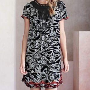 Anthropologie Floreat Abelia Boho Dress